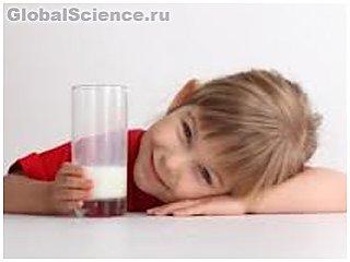 Определена норма потребления молока для детей