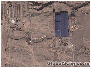 Загадочные сооружения обнаружены в китайской пустыне
