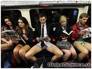 В Лондоне прошла 13-ая ежегодная акция «Долой штаны»!