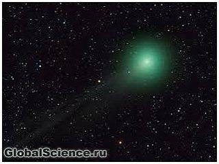 Ярко-зеленая комета скоро пролетит над северным полушарием