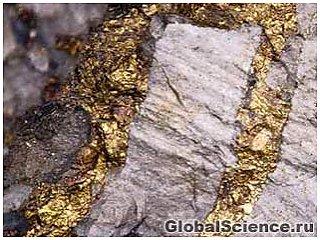 Землетрясения ведут к образованию золотых жил
