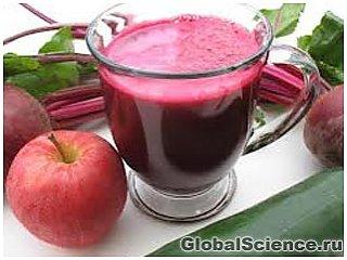 Свекольный сок поможет победить гипертонию