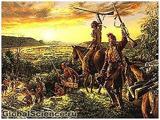Первые поселенцы в Америке практиковали каннибализм