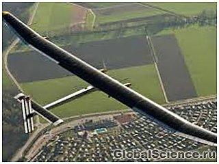 Солнечный самолет совершит перелет через США