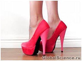 Обувь на каблуках наносит вред здоровью