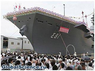 Япония построила самый большой корабль