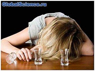 Женщины спиваются быстрее мужчин