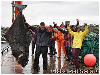 Рыбак из Германии поймал огромного морского монстра