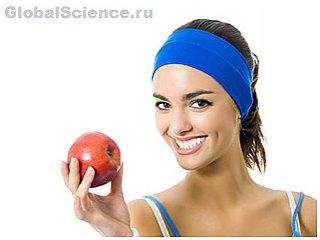 Любительницы яблок выглядят моложе на 17 лет