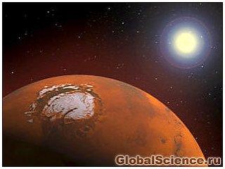 На Марсе 3,5 млрд лет назад существовал океан