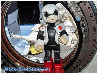 Робот-астронавт Киробо поделился с людьми, какой подарок хотел бы к Рождеству.
