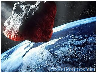 Астероид упал на Землю близ Атлантики