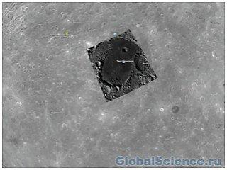 Объект на Google Moon схож с лунной базой инопланетян