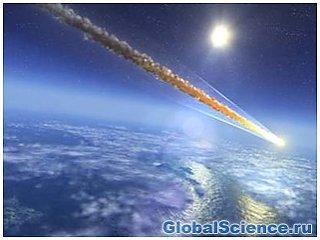 Сегодня мимо земли промчится метеорит