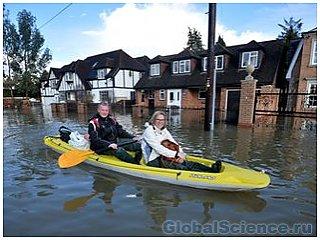 Европа через 35 лет сильно пострадает от наводнений