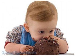 Сладкое и соленое дети предпочитают больше  взрослых