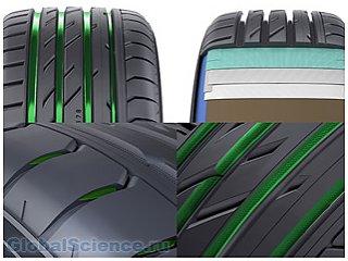 Ученые изучают полимерные материалы для автомобильных шин