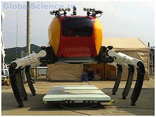 Корейцы создали робота-краба для ремонта подводных коммуникаций