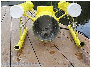 Российским школьником изобретен робот спасатель
