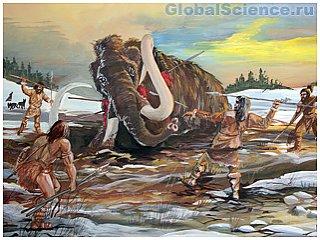 Мамонтов уничтожили древние люди