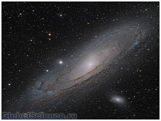 Hubble заснял необычную спиральную галактику NGC 3081