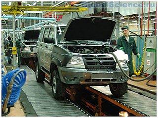 Производство отечественных легковых автомобилей увеличилось в мае на 5,9%