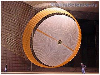 Подушки-парашюты NASA прошли первое испытание