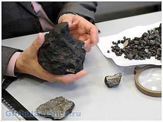 Обнаружен необычный осколок астероида