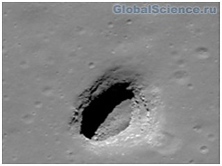 На Луне обнаружено свыше двух сотен дыр