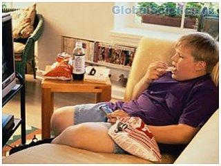Телевизоры в спальнях, связаны с ожирением в детстве
