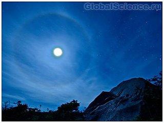 Ядро луны имеет жидкий состав