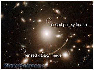 Астрономами в космосе была найдена линза