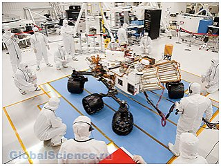 Коллективом ученых из разных стран будет спроектирован новый марсоход
