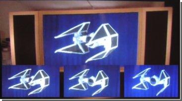 Состоялся дебют нового 3D дисплея. Видео.