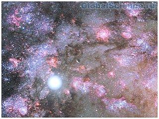 Астрономы наблюдали рождение галактики