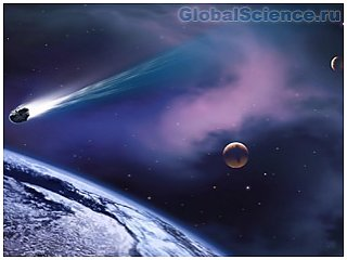 Рядом с Землей пролетел огромный метеорит