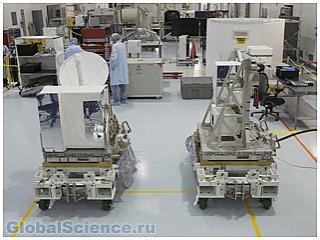 RapidScat частично будет собираться в космосе