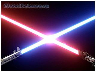 Ученые уже могут создать световой меч