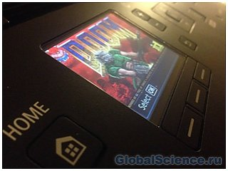 Doom запущен на принтере Canon