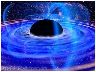 Астрономами обнаружена гигантская черная дыра