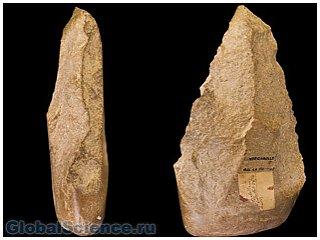 Каменные инструменты не были изобретены в Африке