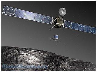 Стали известны планы работы космического зонда «Розетта»