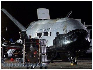 Возвращение на Землю сверхсекретного космического корабля