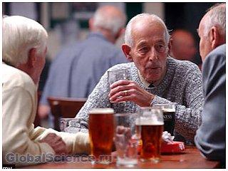Алкоголь полезен для пожилых