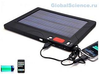 Новые технологии: зарядное устройство на солнечных батареях