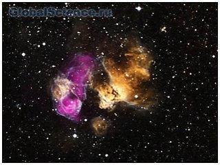Ученым удалось провести анализ взрыва сверхновой
