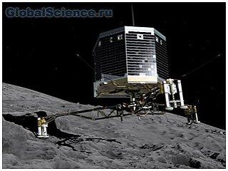 На комету впервые приземлился зонд