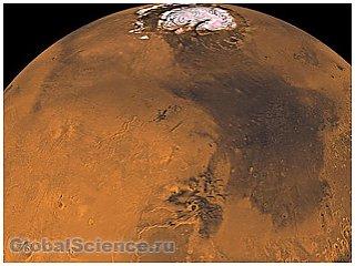 Макропогода характерна и для Марса
