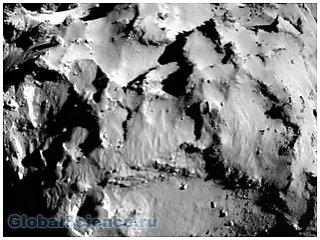 Комета снятая зондом Филы