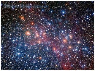 Красивейшее скопление звезд Колодец желаний
